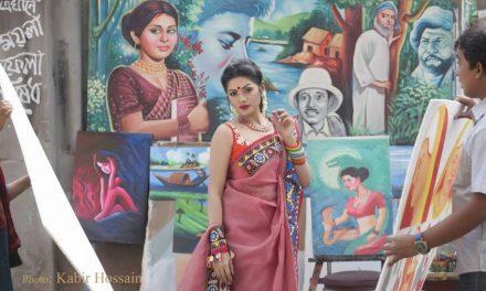 'হলুদবনি'র তিশা কলকাতায়